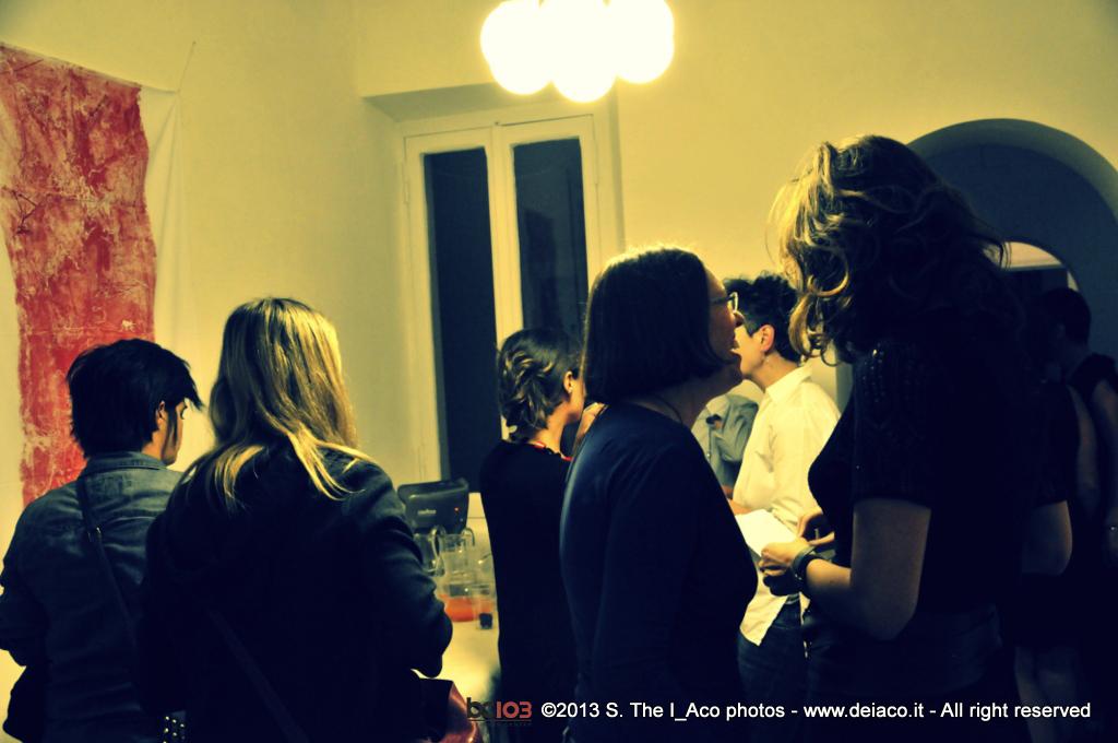 Nicola Dusi Gobbetti mostra a Roma BC103 coworking