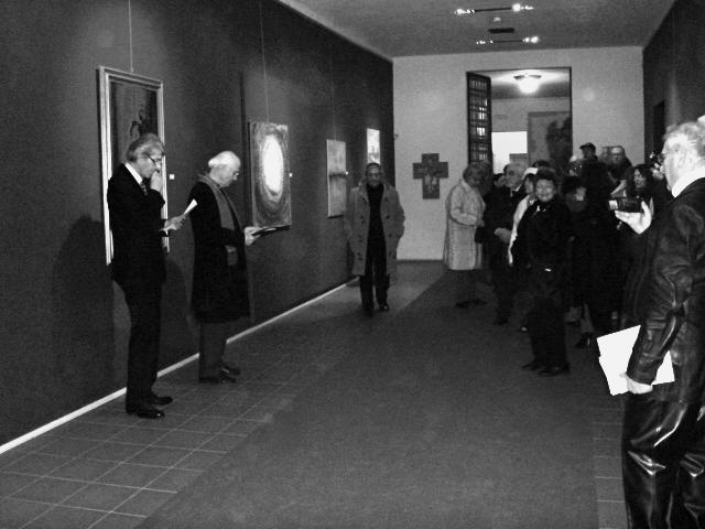 Nicola Dusi Gobbetti inaugurazione ala contemporanea Diocesano MN