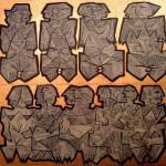Enigma. Olio e smalti su tavola. 100x110 cm. 2010 gobbetti