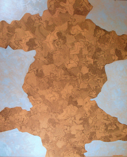 Nicola Dusi Gobbetti, Pergamena I - 110x90, 2013